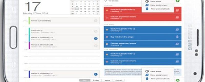 Digital Homework Planner mobile screenshot
